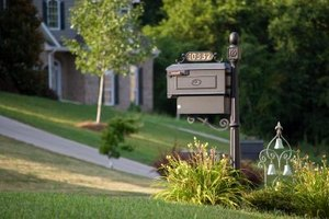 Using split pots prevents many of the problems associated with mailbox gardens.