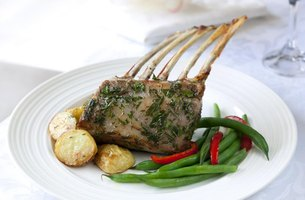 Lamb is the traditional meat served by Italians on Easter.