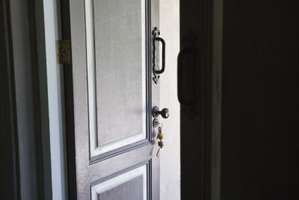 Make unwanted door openings disappear by finishing over them.