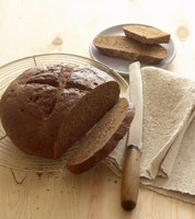Pumpernickel bread is eaten not only in Germany but in many parts of North America.