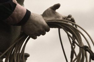 Rodeo participants use special ropes during events.