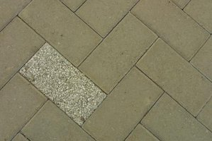 Create a variety of patterns with your clay brick pavers.