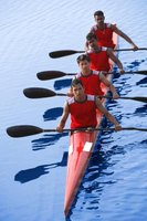 Rowing is a team sport, which offers a camaraderie you might not get from running.