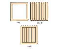 How To Make Baskets Out Of Popsicle Sticks 6 Steps Ehow