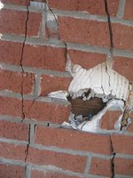 Tuck pointing is used to repair the mortar between masonry joints