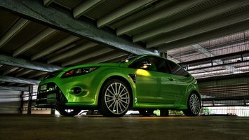 Ford Focus RS at 300hp is one of the most powerful FWD vehicles ever made