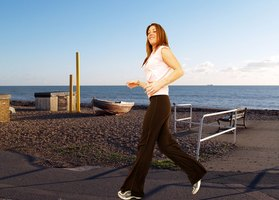 Jogging regularly is an effective way to lose weight.