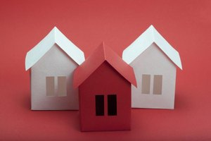 How To Make A 3d Paper Model Of A House Ehow