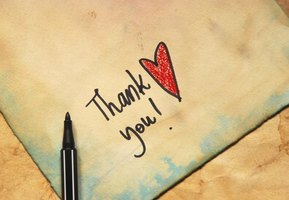 How to Write a Thank You Note for a Dinner Out