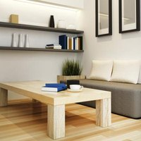How to Make a Room With Wood Furniture Look Modern