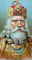 Charlemagne ruled an extensive European empire.