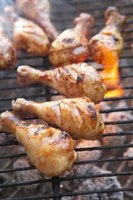 How to Grill Chicken Legs & Thighs