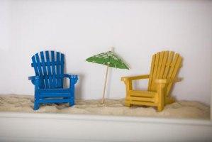 Miniature Wooden Adirondack Chair Crafts Ehow