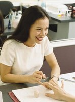 Talk to your manicurist about getting Fimo nail art next time you visit the salon.
