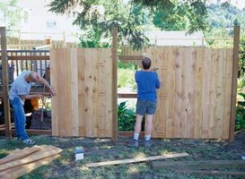 Extending A Short Fence Post Is A Time Saving Solution