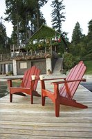 Spruce up deck furniture with a high-gloss paint finish.