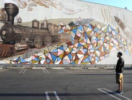 A sponsored graffiti artist can earn a wealth of fans, collectors and commissioned projects.