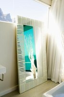 Mirrors can be both functional and highly decorative.