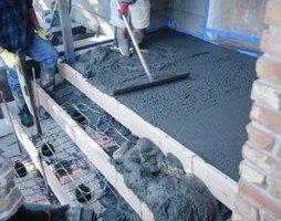 Disadvantages of building with insulated concrete forms ehow for Foam concrete forms