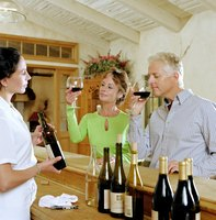 Wine consultants have a nose for distinguishing wine flavors and aromas.