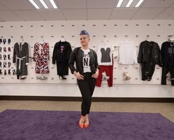 A young celebrity launches her clothing line.