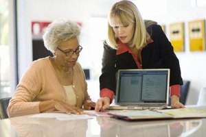 Financial advisers can meet with clients in their homes or offices.