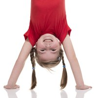 The handstand is one of the fundmental tumbling skills to learn.