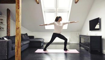 All you need is enough space for a yoga mat to start a home practice.