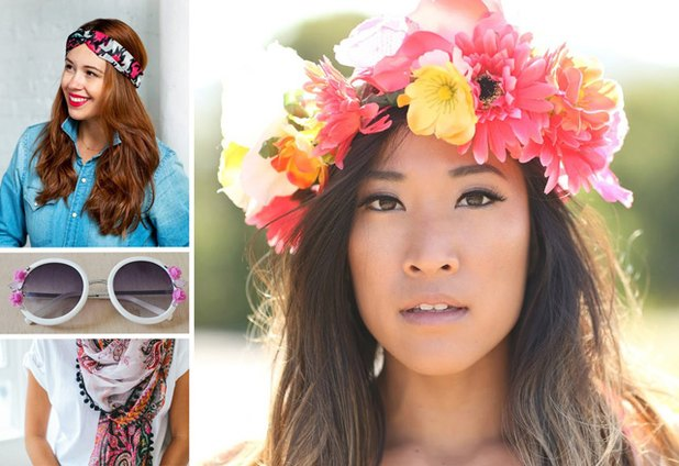 Plan your festival season outfits with these inexpensive DIY projects.