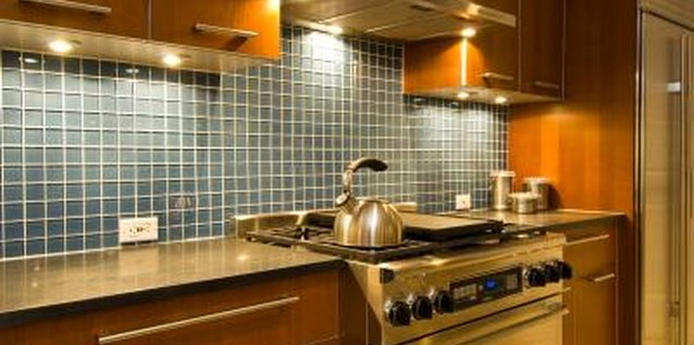 Kitchen backplashes benefit from protective sealers to avoid stains.