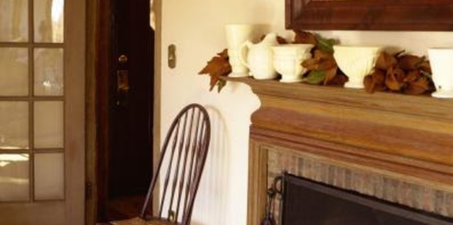 How to Restain a Mantle