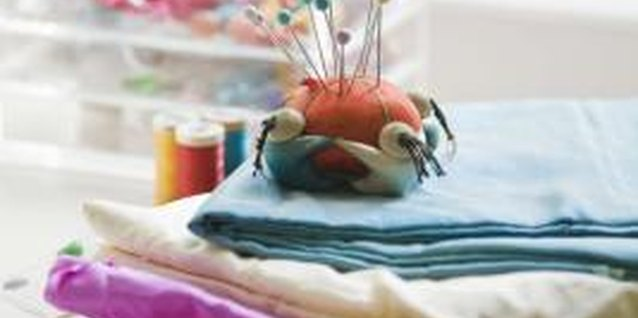 Turn fabric samples into small fun or functional gifts such as pincushions.