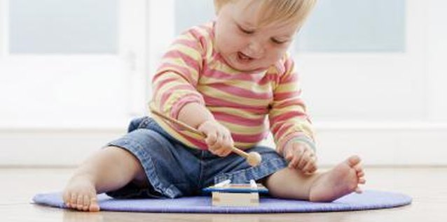 Playing helps your baby learn important concepts, such as cause and effect.