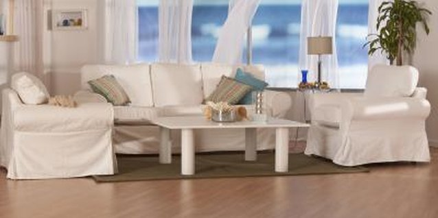 Natural tones create the perfect beach retreat.