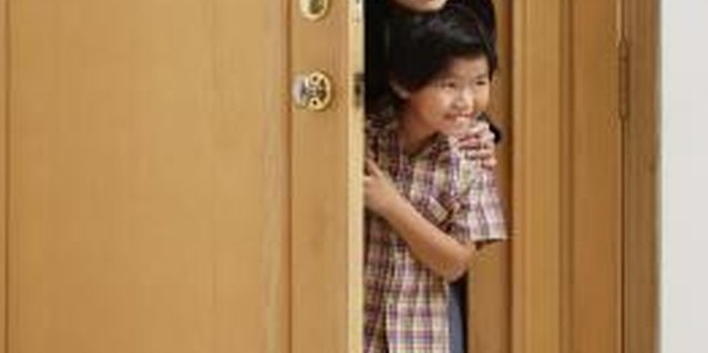 Practicing door manners as a family helps your child learn.