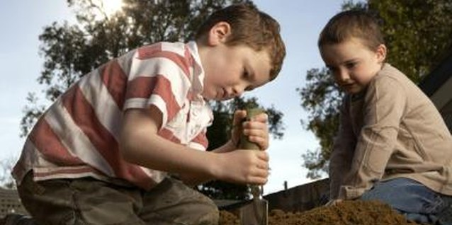 Do something with your dirt pile before your kids do.