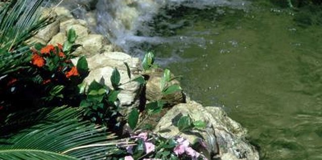 How to Install a Plastic Molded Garden Pond