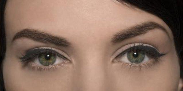 Training your eyebrows with regular shaping can help create the illusion of a larger eye.