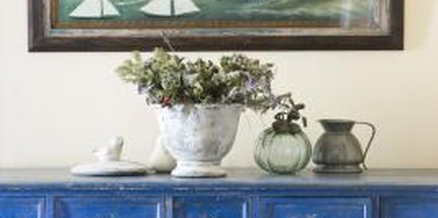 Color and accessories help a dresser blend into any room in your home.