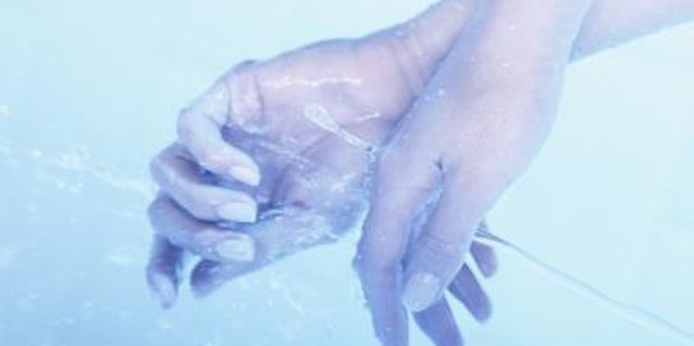Frequent washing of the hands is a contributor to peeling around fingernails.