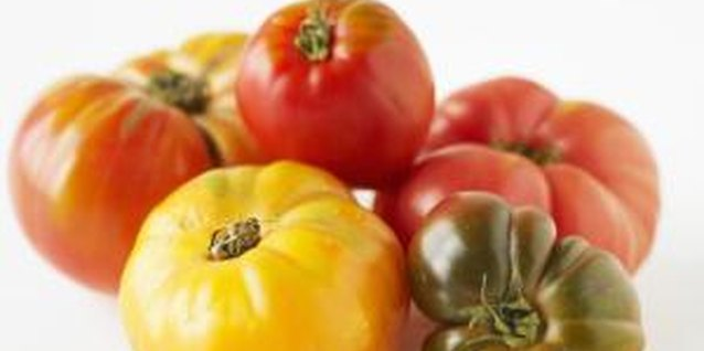 """Orange Oxheart"" is an heirloom tomato variety."