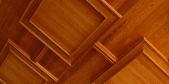 Wood Ceiling Refinishing