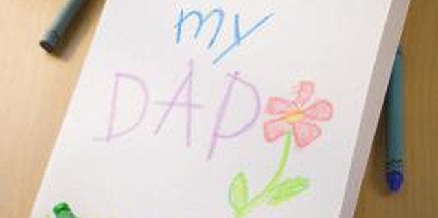 Homemade Father's Day Cards for Toddlers