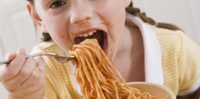 Teach table manners during preschool years.