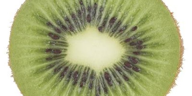 Kiwis are a good source of vitamins C and E.