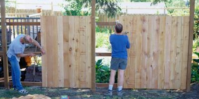 A solid fence can provide plenty of privacy for your yard.