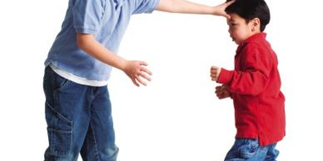 A younger child decides to take a stand against his brother's attempts to bully him.