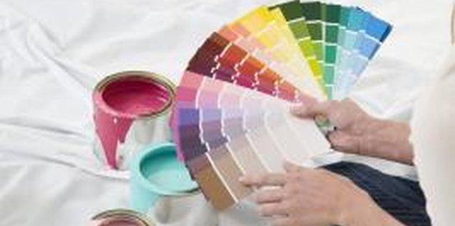Consult color charts to find complementary hues.