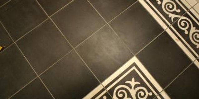 Ceramic tile floors require stability to keep the tiles in place.