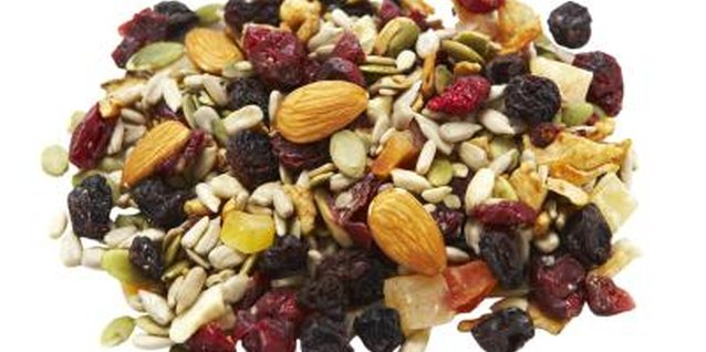 Trail mix keeps your energy high all morning long.